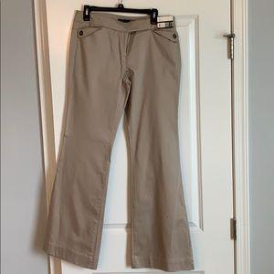 Khaki Pants Size 8 NWT